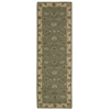 "Nourison India House Runner Rug  By Nourison, Seafoam, 2'3"" X 7'6"""