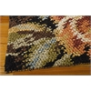 "Nourison Impressionist Rectangle Rug  By Nourison, Harvest, 5'6"" X 7'6"""