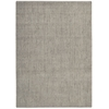 "Nourison Bbl17 Intermix Rectangle Rug  By Nourison, Smoke, 5'3"" X 7'5"""