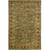 "Jaipur Rectangle Rug By, Green, 5'6"" X 8'6"""