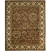 "Jaipur Rectangle Rug By, Rust, 7'9"" X 9'9"""