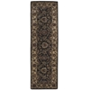 "Jaipur Runner Rug By, Black, 2'4"" X 8'"