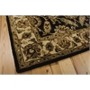 "Nourison Jaipur Rectangle Rug  By Nourison, Black, 5'6"" X 8'6"""