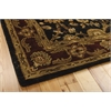 "Jaipur Rectangle Rug By, Black, 5'6"" X 8'6"""