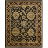 "Jaipur Rectangle Rug By, Black, 7'9"" X 9'9"""