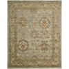 "Nourison Jaipur Rectangle Rug  By Nourison, Aqua, 7'9"" X 9'9"""