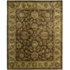 "Nourison Jaipur Rectangle Rug  By Nourison, Brown, 7'9"" X 9'9"""