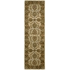 "Jaipur Runner Rug By, Ivory Brown, 2'4"" X 8'"