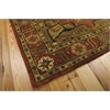 "Nourison Jaipur Rectangle Rug  By Nourison, Brick, 5'6"" X 8'6"""