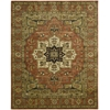 "Jaipur Rectangle Rug By, Brick, 7'9"" X 9'9"""