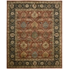 "Nourison Jaipur Rectangle Rug  By Nourison, Brick, 7'9"" X 9'9"""
