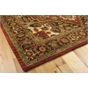 "Nourison Jaipur Rectangle Rug  By Nourison, Red, 5'6"" X 8'6"""