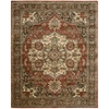 "Nourison Jaipur Rectangle Rug  By Nourison, Red, 7'9"" X 9'9"""