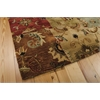 "Nourison Jaipur Rectangle Rug  By Nourison, Multicolor, 5'6"" X 8'6"""
