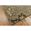 "Nourison Jaipur Rectangle Rug  By Nourison, Silver, 5'6"" X 8'6"""