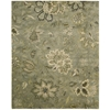 "Jaipur Rectangle Rug By, Silver, 7'9"" X 9'9"""