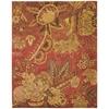 "Nourison Jaipur Rectangle Rug  By Nourison, Flame, 7'9"" X 9'9"""