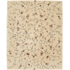 "Nourison Julian Rectangle Rug  By Nourison, Light Gold, 7'6"" X 9'6"""