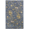 "Nourison Julian Rectangle Rug  By Nourison, Light Blue, 3'6"" X 5'6"""