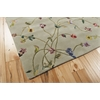 "Nourison Julian Rectangle Rug  By Nourison, Light Green, 5'3"" X 8'3"""