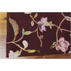 "Nourison Julian Runner Rug  By Nourison, Ruby, 2'3"" X 8'"