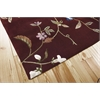 "Julian Rectangle Rug By, Ruby, 5'3"" X 8'3"""