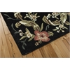 "Nourison Julian Rectangle Rug  By Nourison, Black, 5'3"" X 8'3"""