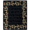 "Nourison Julian Rectangle Rug  By Nourison, Black, 7'6"" X 9'6"""