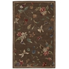 "Nourison Julian Rectangle Rug  By Nourison, Mushroom, 3'6"" X 5'6"""