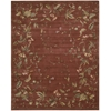 "Julian Rectangle Rug By, Persimmon, 7'6"" X 9'6"""