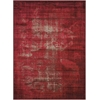 Karma Red Area Rug