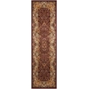 "Antiquities ""Stately Empire"" Burgundy Area Rug"