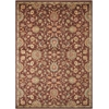 "Ancient Times ""Ancient Treasures"" Brown Area Rug"