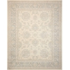"Royal Serenity ""Hyde Park"" Ivory Blue Area Rug"