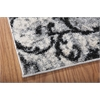 "Ki02 Santa Barbara Runner Rug By, White Fume, 2'2"" X 8'"