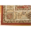 "Ki06 Lumiere Rectangle Rug By, Brick, 7'9"" X 10'10"""