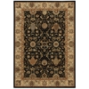"Nourison Ki06 Lumiere Rectangle Rug  By Nourison, Onyx, 5'3"" X 7'5"""