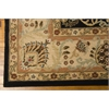 "Ki06 Lumiere Rectangle Rug By, Onyx, 7'9"" X 10'10"""