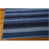 "Ki08 Griot Rectangle Rug By, Indigo, 5'3"" X 7'5"""