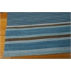 "Ki08 Griot Rectangle Rug By, Turquoise, 5'3"" X 7'5"""