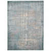 "Nourison Karma Rectangle Rug  By Nourison, Blue, 5'3"" X 7'4"""