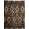 "Nourison Karma Rectangle Rug  By Nourison, Chocolate, 5'3"" X 7'4"""
