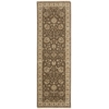 "Nourison Legend Runner Rug  By Nourison, Chocolate, 2'6"" X 8'"