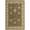 "Nourison Legend Rectangle Rug  By Nourison, Chocolate, 5'6"" X 8'6"""