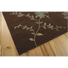 "Nourison Modern Elegance Rectangle Rug  By Nourison, Brown, 5'6"" X 7'5"""