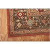 "Living Treasures Rectangle Rug By, Rust, 7'6"" X 9'6"""