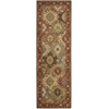 "Living Treasures Runner Rug By, Multicolor, 2'6"" X 8'"