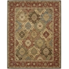 Living Treasures Multicolor Area Rug