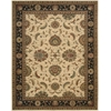 "Living Treasures Rectangle Rug By, Ivory, 7'6"" X 9'6"""