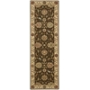 "Nourison Living Treasures Runner Rug  By Nourison, Brown, 2'6"" X 8'"